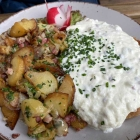 Foto zu Restaurant Schindelhaus: Hessisches Schmandschnitzel