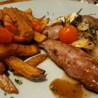 Foto zu Olivenhof Gronauer Wald: Pommes und Fleisch