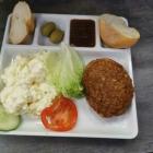 Foto zu TAM's Bistro + Kiosk + DHL Paketshop: Frikadelle mit Kartoffelsalat