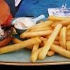 Ziegenkäse-Burger