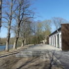 Foto zu Margaretental: Neue Terrasse mit Blick auf den Nord-Ostsee-Kanal!