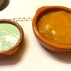 Minz und Mango-Curry Dip