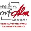 Neu bei GastroGuide: Testzentrum- Dorf Alm Winterberg