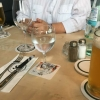 Bier am Tisch