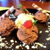 Mousse au Chocolat für zwei , kleine Portion