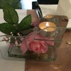 Foto zu Cafe Restaurant BenAmi: Tisch-Dekoration