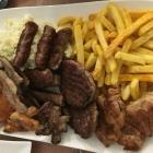 Foto zu Cafe Restaurant BenAmi: die Doppelplatte