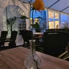 Foto zu Gutsausschank im Weingut Peter Flick: 31.07.21. Tischdeko