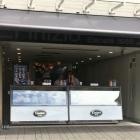 Foto zu Eiscafé L´Inizio: Theke an der Straße