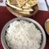 Reis und Naan