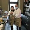 Almar Sokoli und seine reizende Frau Adela