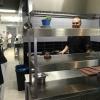 Der Chefkoch Arturo in seinem Bereich