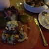 Wildsülze mit Bratkartoffeln und Mayo