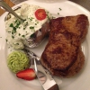 Rumpsteak 450g mit Folienkartoffel