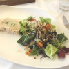Terrine und Salat