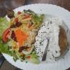 Folienkartoffel mit Salat 8,20€