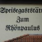 Foto zu Gaststätte im Hotel Zum Rhönpaulus: