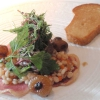 Entenleber mit Salat