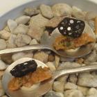 Foto zu Gourmetrestaurant Zur Post: Gruß Lachs-Tatar