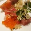 Detail mit Lachs-Kaviar