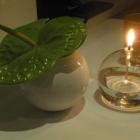 Foto zu Gourmetrestaurant Zur Post: Blumendeko am Tisch