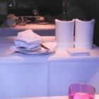 Foto zu Gourmetrestaurant Zur Post: Utensilien-Tisch