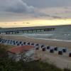 Nicht die Linde, aber der Strand von Rerik beim Verdauungsspaziergang :-)
