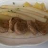 Delbrücker Spargel mit Schweine-Medaillons