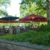 Terrasse im Park