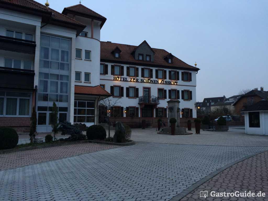 Zur Schonen Aussicht Restaurant Hotel In 97828 Marktheidenfeld