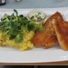 Island Rotbarschfilet mit Kartoffel-Feldsalat