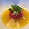 wagyu japanisch 30 d dry aged | salad | kabeljau consommé