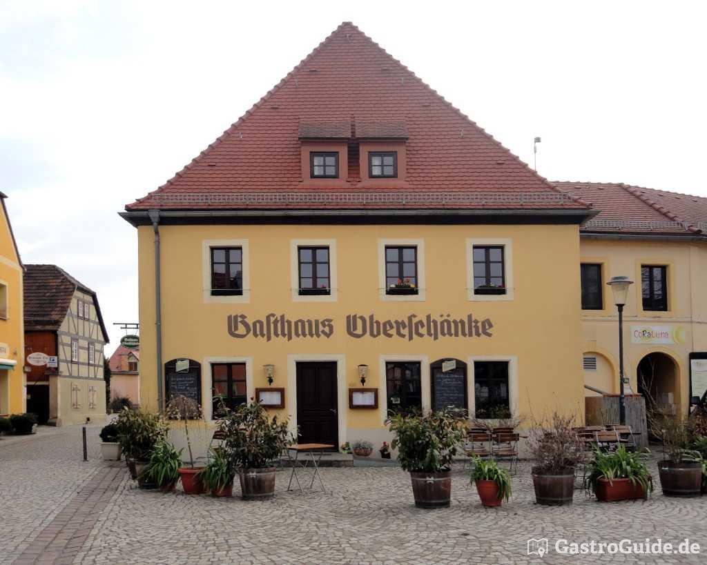Gasthaus Oberschänke Restaurant, Biergarten, Weinkeller in 01445 ...