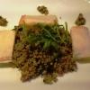 Feta im Brickteig, Couscoussalat