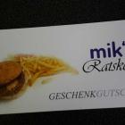 Foto zu mik's Ratskeller: Unser Gutschein