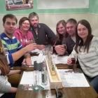 Foto zu mik's Ratskeller: Meterbier und Megaburger Gestern Abend bei uns im Keller ;)