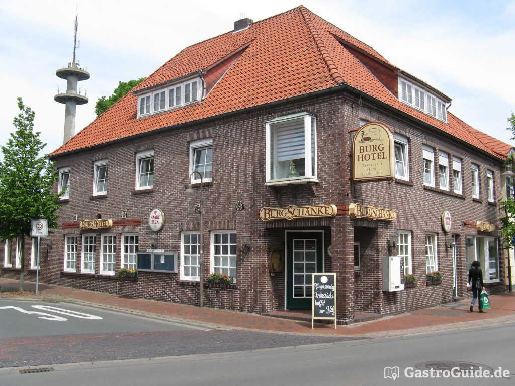 Burgschänke im Burghotel Restaurant, Partyservice, Festsaal in 26169 ...