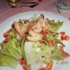 Salat mit Scampis