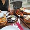 Dakshin-Platte auf dem Tisch