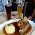 Foto zu Heilig Geist Spital: Schäufele mit Tucher Bier