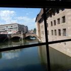 Foto zu Heilig Geist Spital: Blick aus dem Fenster in die Pegnitz