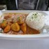 Curry Hähnchen mit Reis