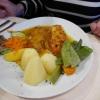 Rotbarsch mit Orangensoße
