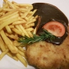 Schnitzel mit BBQ Sauce