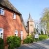Das Gasthaus mit der namensstifenden Moorlosen Kirche