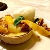 Zitronen-Tartelett mit Zitrusragout und Basilikum (+Zitronensorbet)