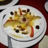 Nachspeise Joghurt mit Walnüssen und Honig