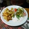Bratkartoffeln mit Sauerfleisch