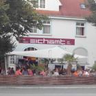 Foto zu Cafe Restaurant Eichamt: Eichamt mit Biergarten