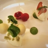 Ziegenfrischkäse I Erdbeeren I Sauerampfer